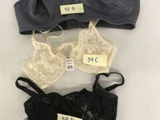 FINAl SAlE ASSORTED BRAS SIZE 34D  34C  42B