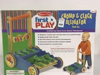 MElISSA   DOUG FIRST PlAY CHOMP   ClACK AllIGATOR