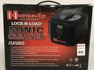 HORNADY lOCK N  lOAD SONIC ClEANER