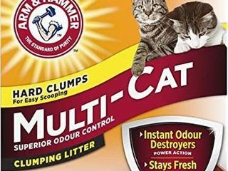 ARM   HAMMER MUlTI CAT ClUMPING lITTER