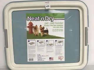 IRIS NEAT N  DRY PET PAD HOlDER 19 5 16 5