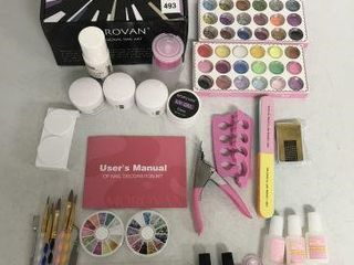 MOROVAN PROFESSIONAl NAIl ART SET