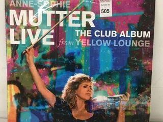 MUTTER lIVE THE ClUB AlBUM RECORDING AlBUM