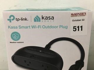 TP lINK KASA SMART WIFI OUTDOOR PlUG