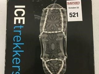 ICE TREKKERS DIAMOND GRIP SIZE MEDIUM