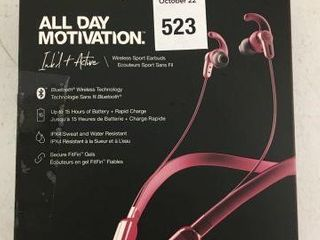 SKUllCANDY INK D WIRElESS IN EAR HEADPHONES