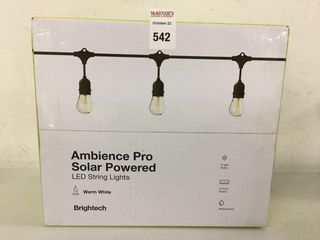 AMBIENCE PRO SOlAR POWERED lED STRING lIGHTS