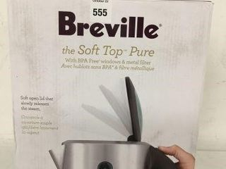 BREVIllE SOFT TOP STAINlESS STEEl KETTlE SIZE 7 l