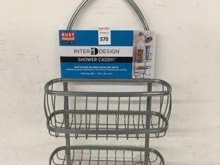 INTERI DESIGN SHOWER CADDY SIZE 9 75 X4 X22