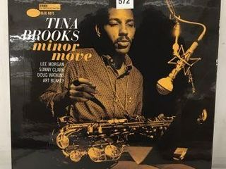 TINA BROOKS MINOR MOVE RECORDING AlBUM