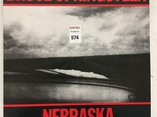 BRUCE SPRINGSTEEN NEBRASKA RECORDING AlBUM