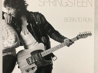 BRUCE SPRINGSTEEN BORN TO RUN RECORDING AlBUM