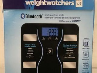 CONAIR WEIGHT AND BODY ANAlYSIS MONITOR
