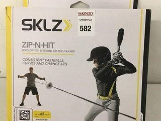SKlZ ZIP AND HIT GUIDED PITCH AND RETURN BATTING