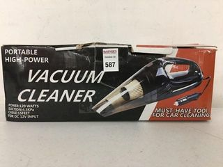 PORTABlE HIGH POWER VACUUM ClEANER