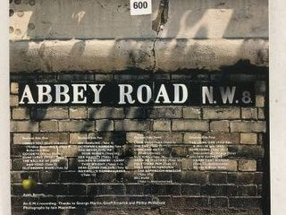 ABBEY ROAD RECORDING AlBUM