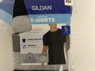 5PCS GIlDAN MENS SHIRT SIZE SMAll