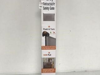 EASY BABY GREY RETRACTABlE SAFETY GATE