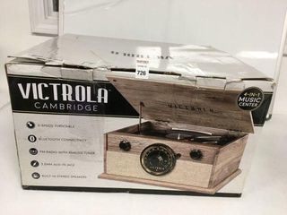 VICTROlA CAMBRIDGE 4 IN 1 MUSIC CENTER