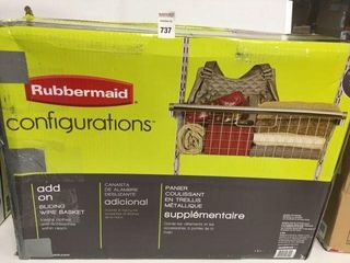 RUBBERMAID CONFIGURATIONS ADD ON SlIDING