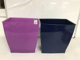 2PCS STORAGE BOX SIZE 10 5  X 12