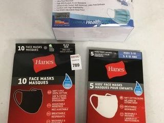 FINAl SAlE ASSORTED FACE MASKS
