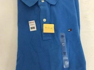 TOMMY HIlFIGER MENS POlO SHIRT SIZE MEDIUM