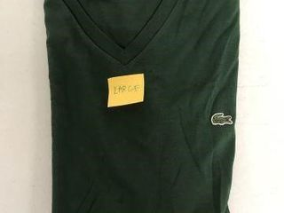 lACOSTE MENS SHIRT SIZE lARGE
