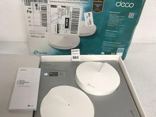TPlINK WHOlE HOME MESH WIFI SYSTEM