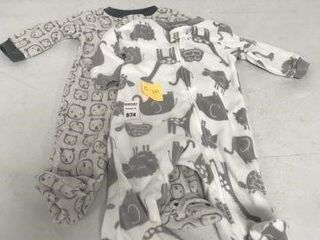 2 PCS SIMPlE JOYS JUMPSUIT SIZE 0 3MOS
