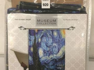 MUSEUM COllECTION FABRIC SHOWER CURTAIN