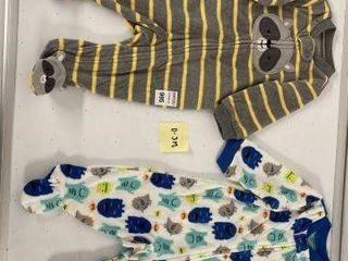 2 PCS SIMPlE JOYS BABY SUIT SIZE 0 3MONTHS