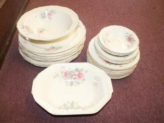 Knowles  China Floral Pattern
