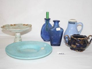 Group of Various Glass ceramic items  6