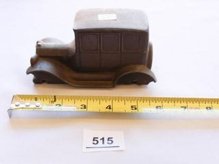 Brass Toy Car Penny Bank