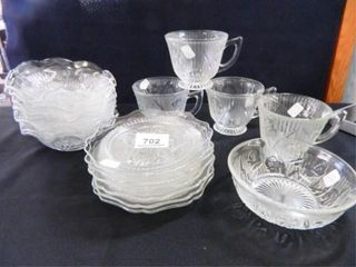 Jeanette Iris Bowls  Cups  Saucers