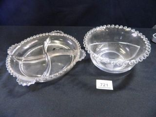 Candlewick Divided Bowls   2
