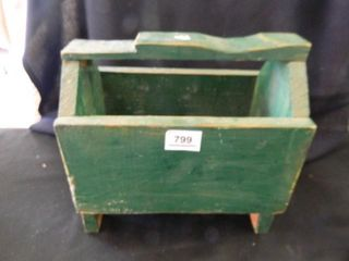 Wooden Box w handle