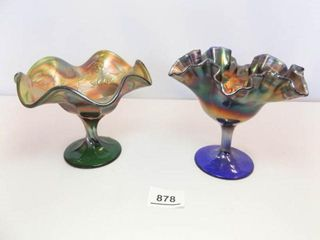 Carnival Glass Pieces   2
