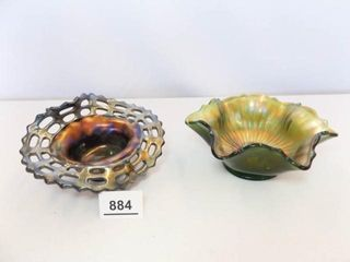 Carnival Glass Small Bowls   2