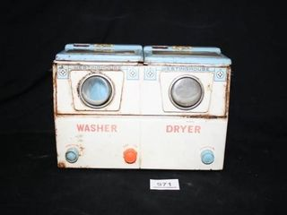 Westinghouse washer and dryer metal toy