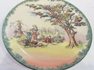 ROYAl DOUlTON  THE GlEANERS  15 5  CHARGER