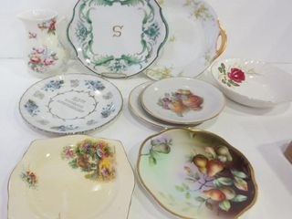 ASSORTED PlATES  PITCHER