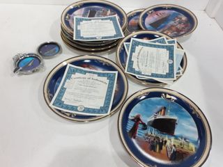 COllECTOR PlATES OF SHIPS WITH CERTIFICATES OF