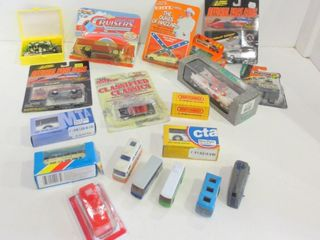 DIE CAST COllECTIBlE CARS AND BUSES