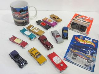 DIE CAST COllECTIBlE CARS  MUG