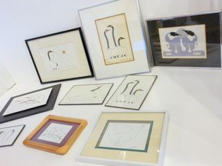 PRINTS BY BENJAMIN CHEE CHEE AND DORIS CYRETTE