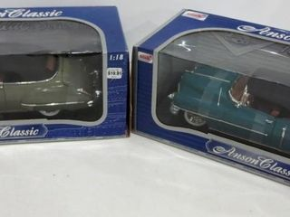 ANSON ClASSIC DIE CAST MODEl CARS   1 18 SCAlE