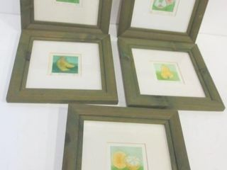 SIGNED NUMBERED PRINTS BY BANI   8 X 8