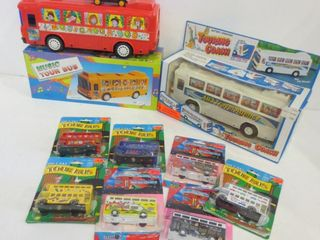 BATTERY OPERATED TOURING COACH AND MUSICAl TOUR